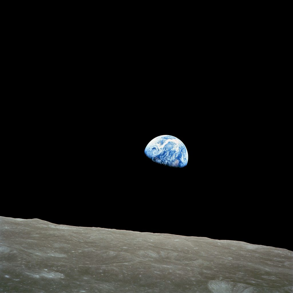 Earth, seen from space.
